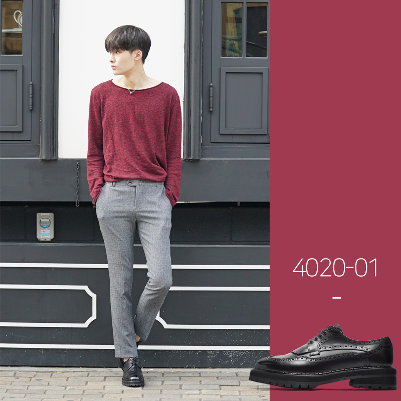 4020-01 / Black Kip / Walker 11 / 001
