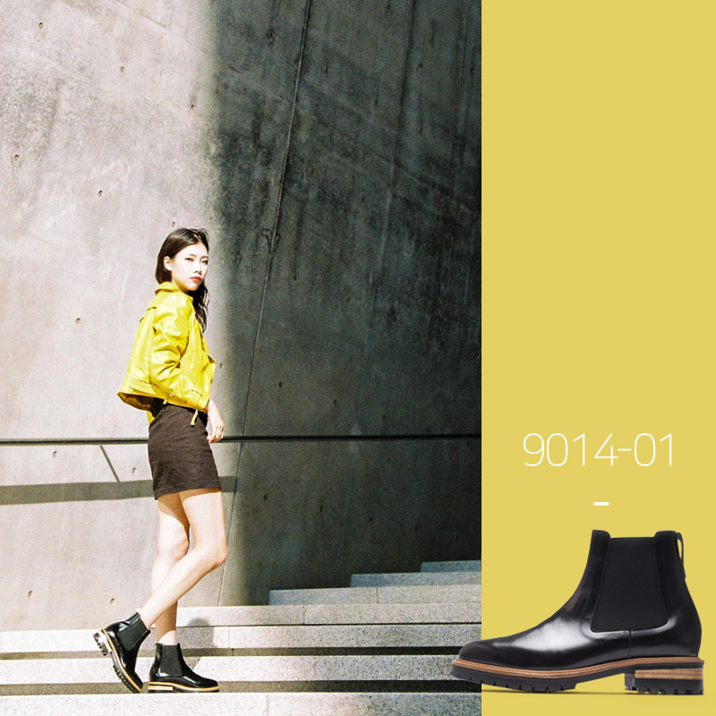 9014-01 / Black Kip / Walker 03 / 001
